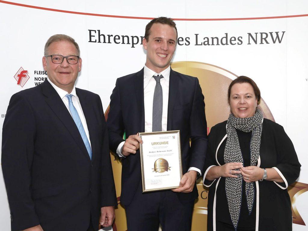 """Bäckerei Bertermann Minden · Heimat. Herz. Backen · Wir sind mit dem """"Meister.Werk.NRW 2019"""" ausgezeichnet"""