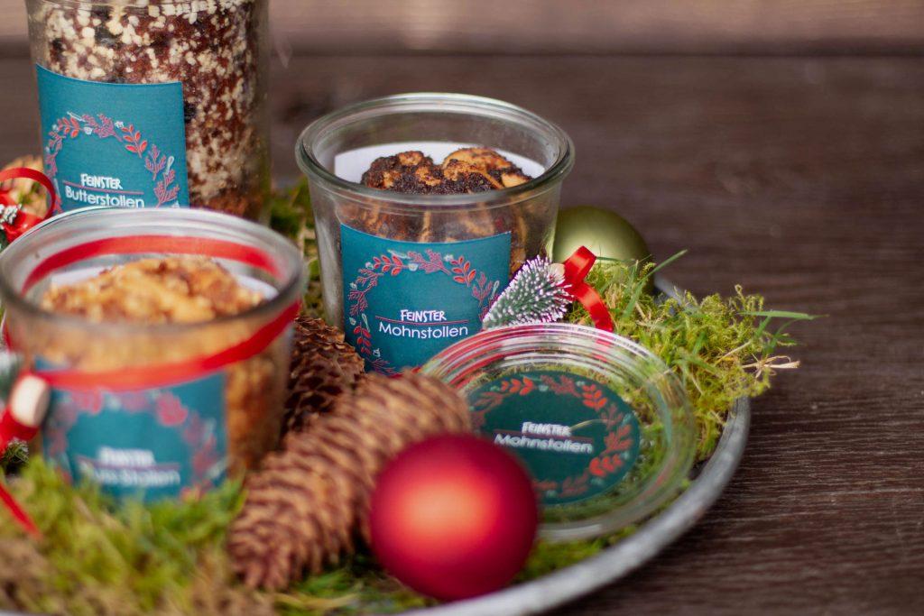 Bäckerei Bertermann Minden · Heimat. Herz. Backen · Weihnachtsstollen im Glas