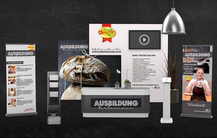 Bäckerei Bertermann Minden · Heimat. Herz. Backen · Messestand GoFuture