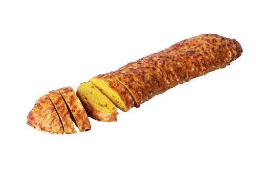 Pikantes Käsebaguette