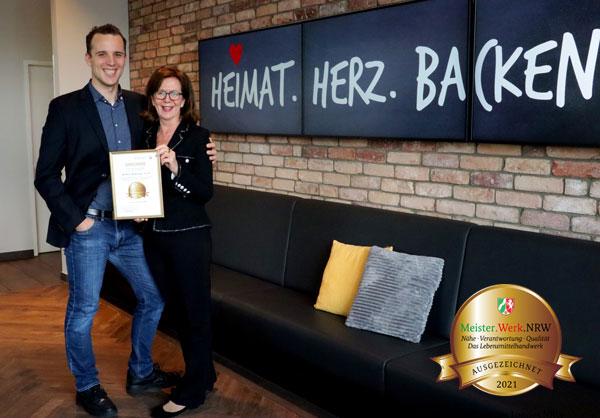 Bäckerei Bertermann Minden · Heimat. Herz. Backen · Meisterwerk 2021