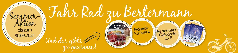 Bäckerei Bertermann Minden · Heimat. Herz. Backen · Breadblog · Sommeraktion 2021 · Banner